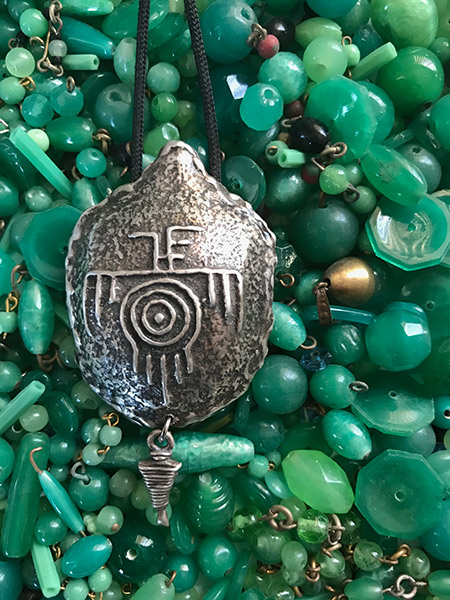 Turtle Pendant to accept the JedEye Hologram